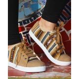 La chaussure des Incas beige