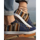 La chaussure des Incas blue ocean