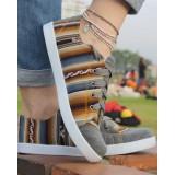 La chaussure des Incas gris