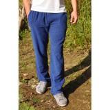 Pantalon péruvien bleu