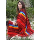 Le traditionnel poncho inca