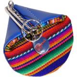 Le porte monnaie Aguayo bleu