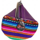 Le porte monnaie Aguayo mauve