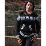 Pull péruvien noir