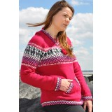 Pull couleurs rose fuchsia
