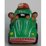 Taxi de la cordillère des Andes vert